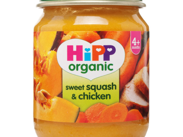 HiPP Stage 1 Organic Squash & Chicken