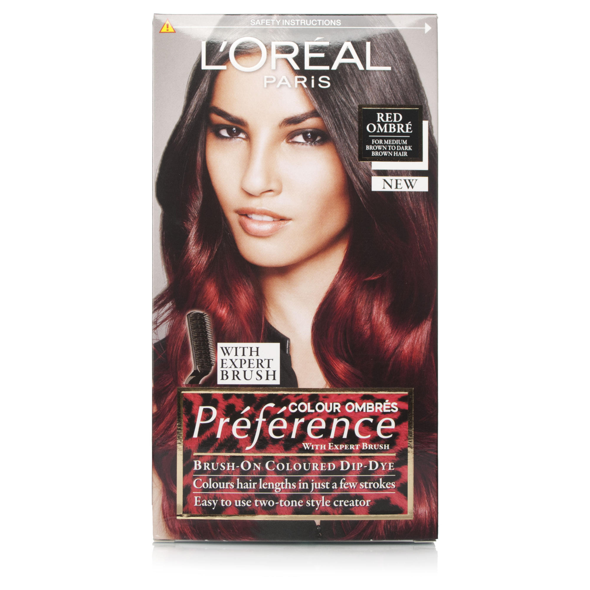 loreal preference wild ombre red 666 chemist direct