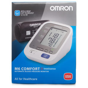 omron m6 comfort blood pressure monitor chemist direct. Black Bedroom Furniture Sets. Home Design Ideas