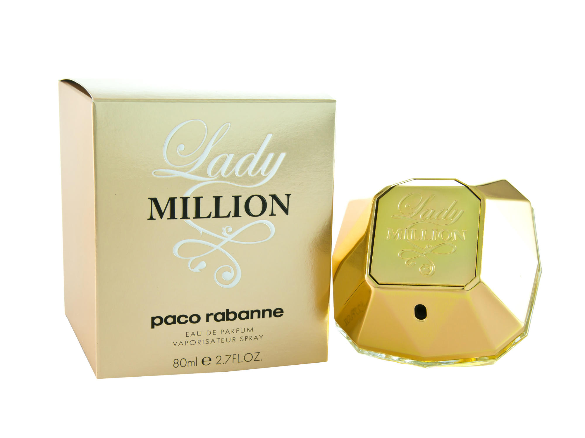 paco rabanne lady million eau de parfum spray chemist direct. Black Bedroom Furniture Sets. Home Design Ideas