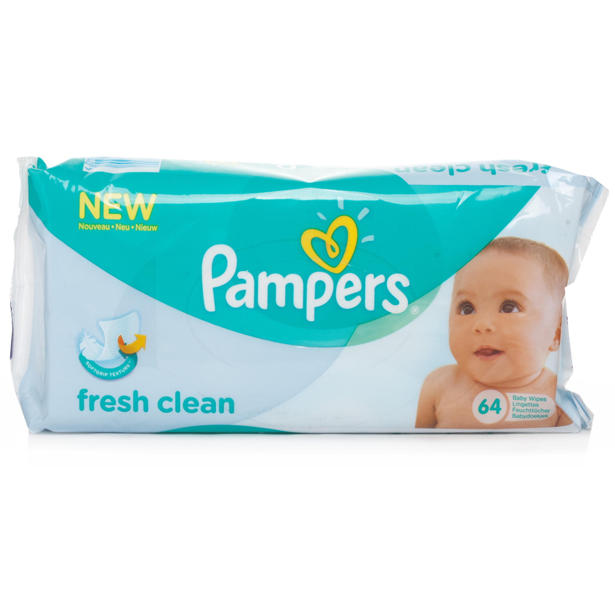 Pampers Fresh Clean Baby Wipes Chemist Direct