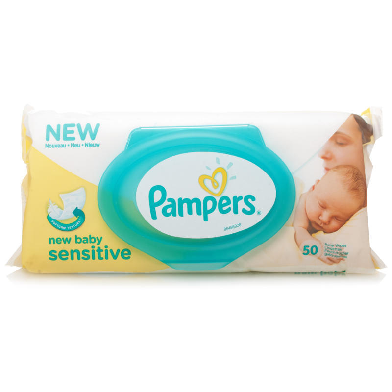 pampers new baby sensitive baby wipes chemist direct. Black Bedroom Furniture Sets. Home Design Ideas
