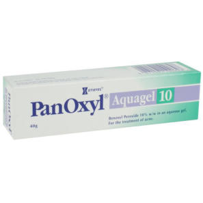 Panoxyl Aquagel 10% 40g | Acne Treatment | Chemist Direct