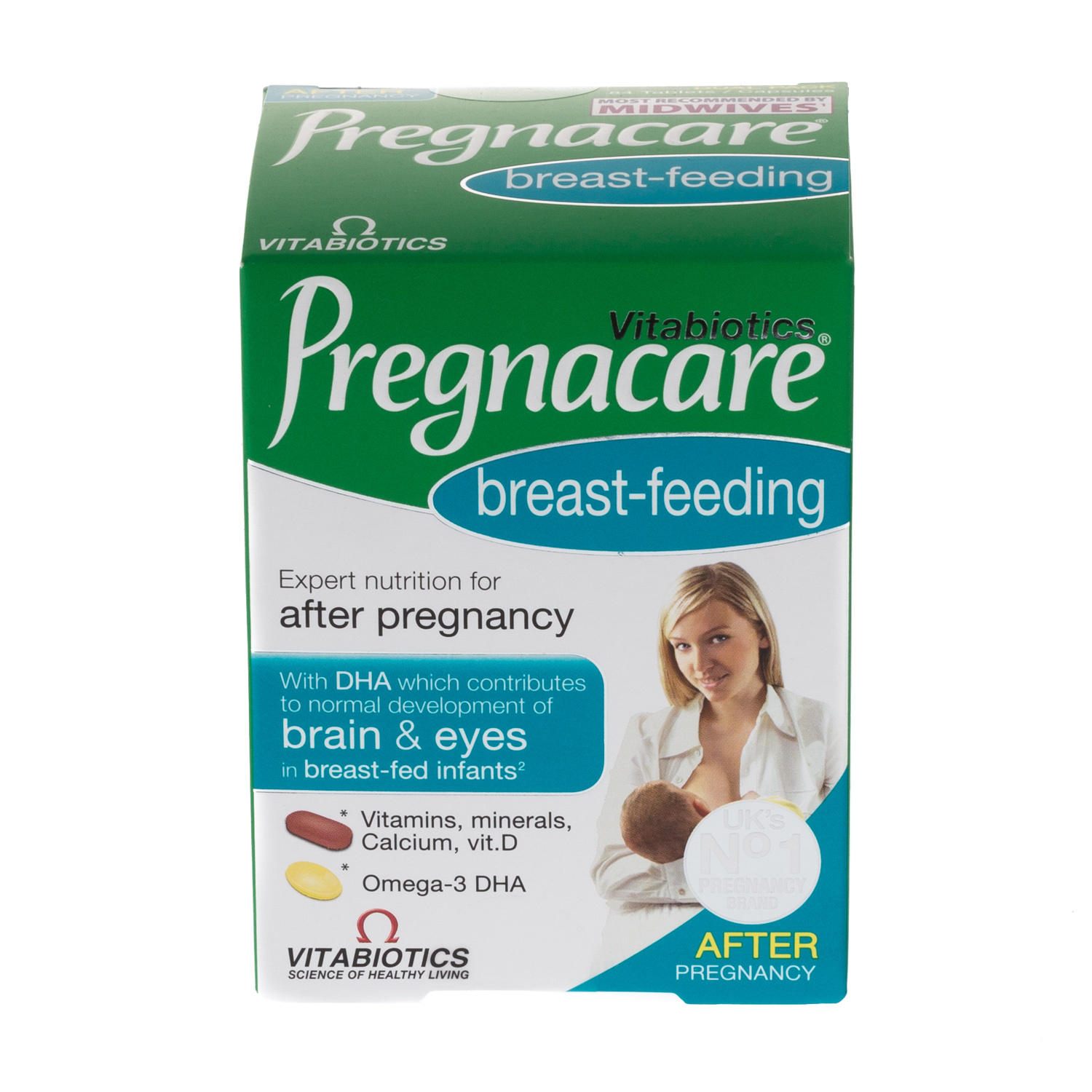 Vitabiotics Pregnacare BreastFeeding Capsules