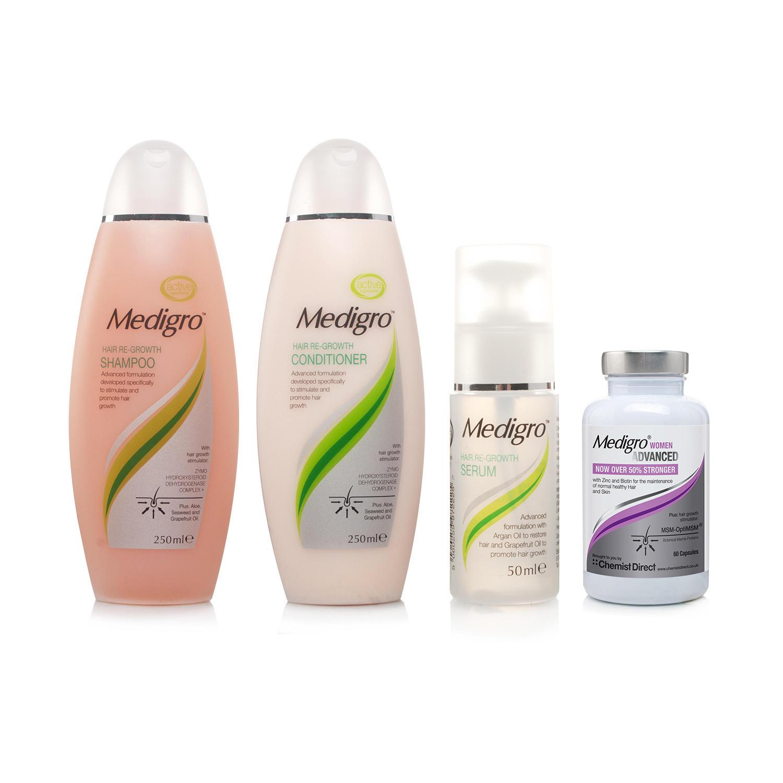Medigro Shampoo Conditioner&Serum&Medigro Women Supplement