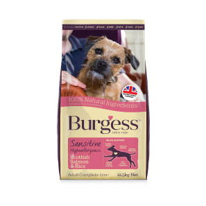 Burgess Sensitive Salmon And Rice Dog Food
