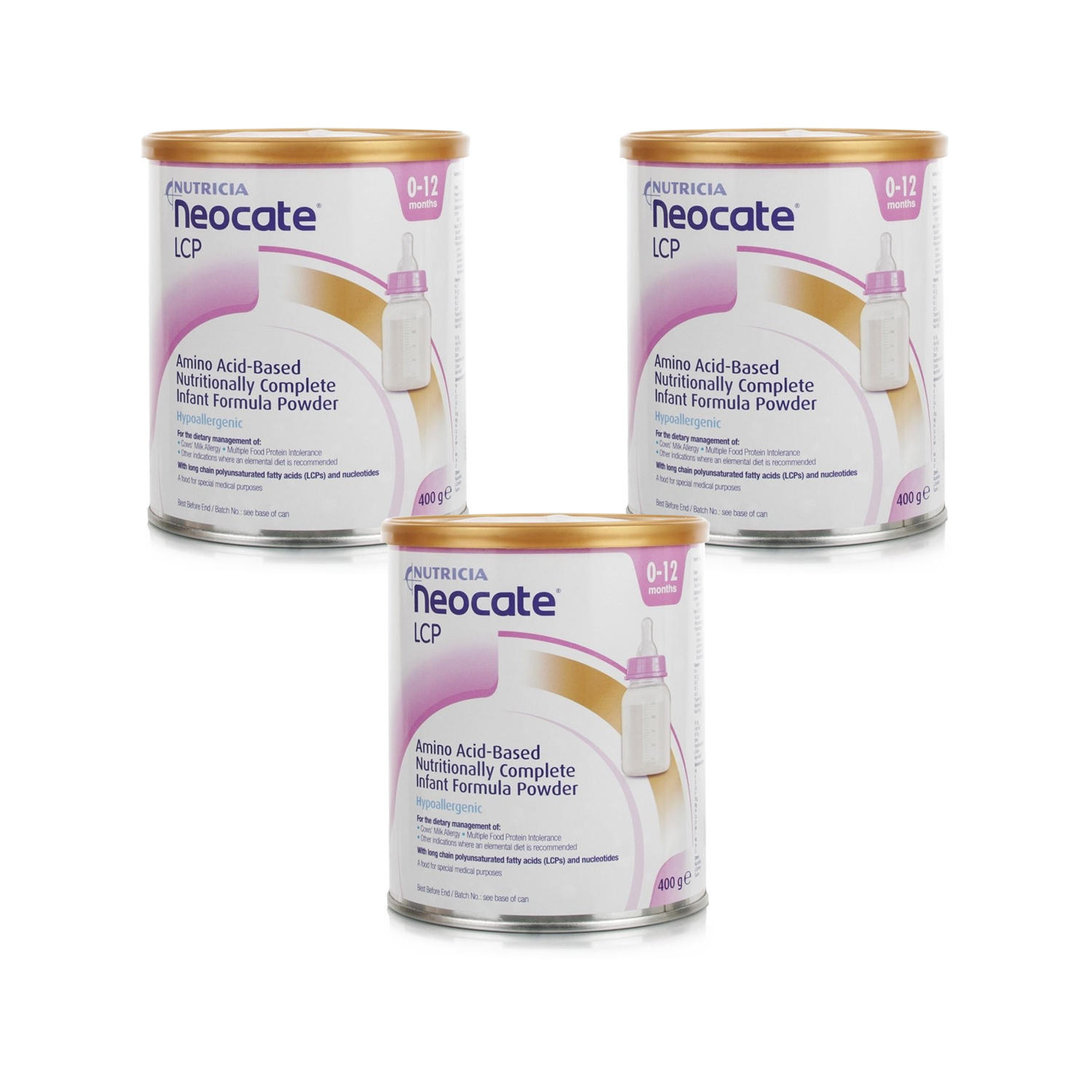Neocate LCP 400g  Triple Pack