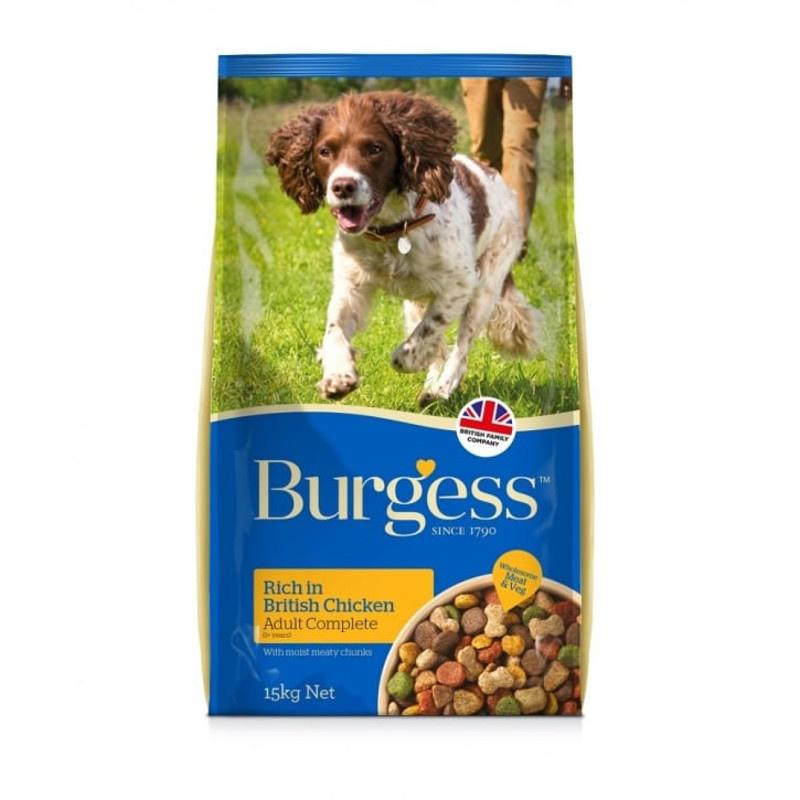 Burgess Dog Food Rich In British Chicken