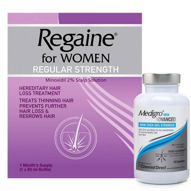 Regaine hair treatment
