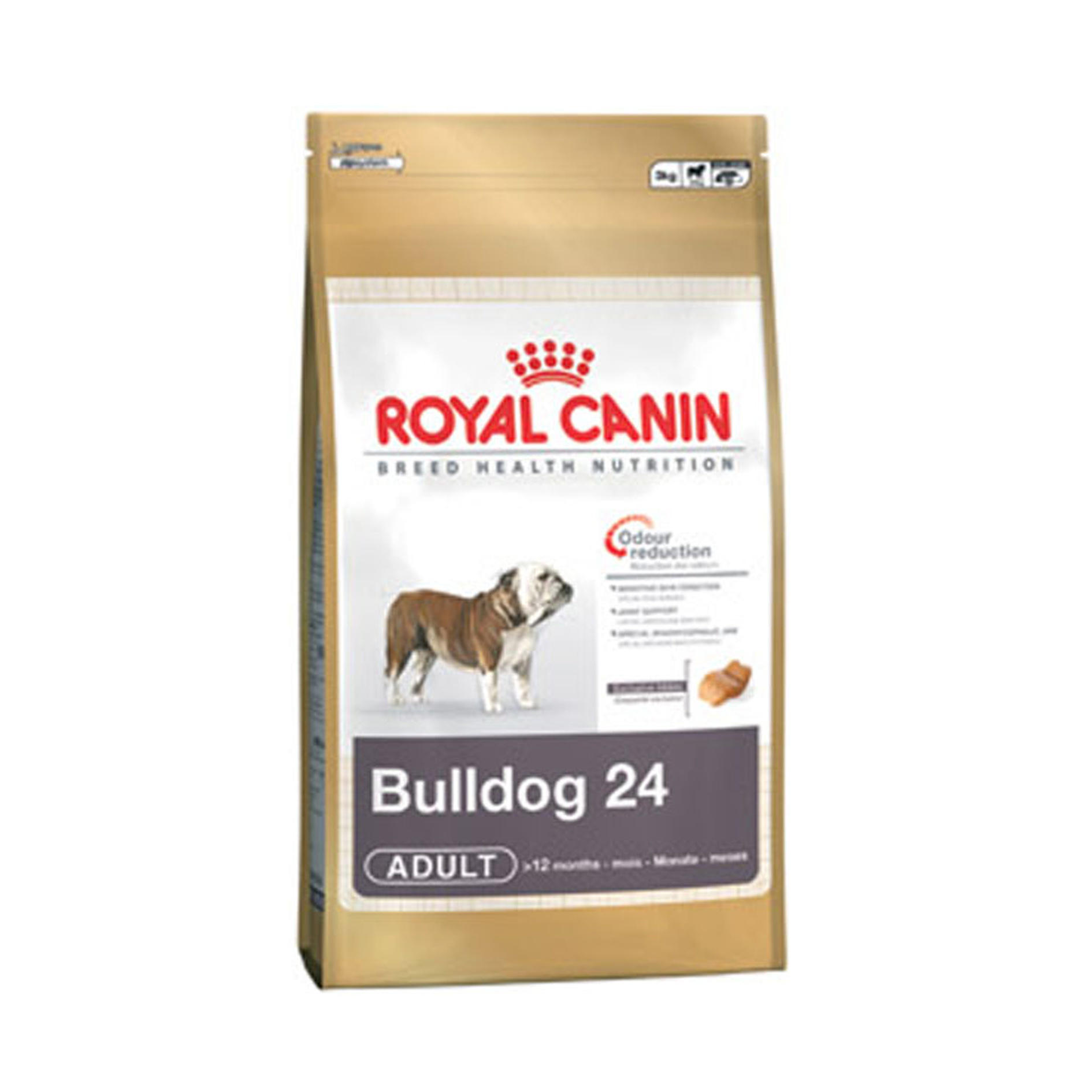 Click to view product details and reviews for Royal Canin Breed Health Nutrition Bulldog Adult 24.