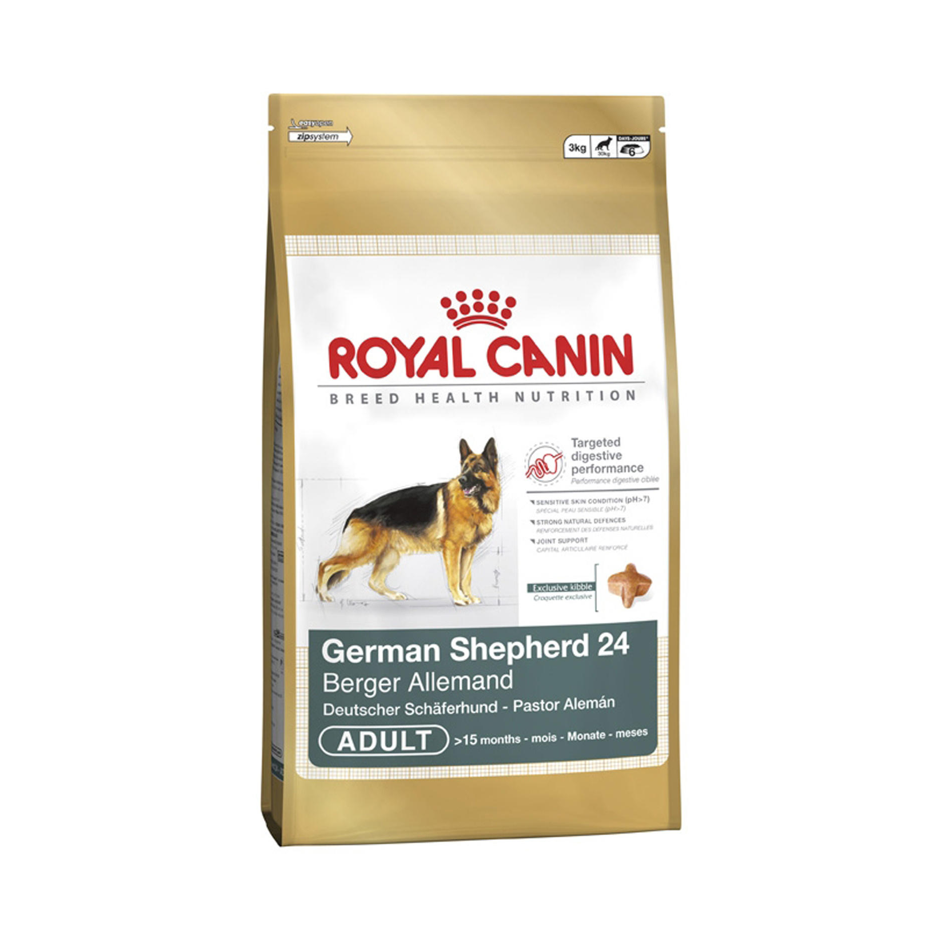 Royal Canin Breed Health Nutrition German Shepherd Adult 24