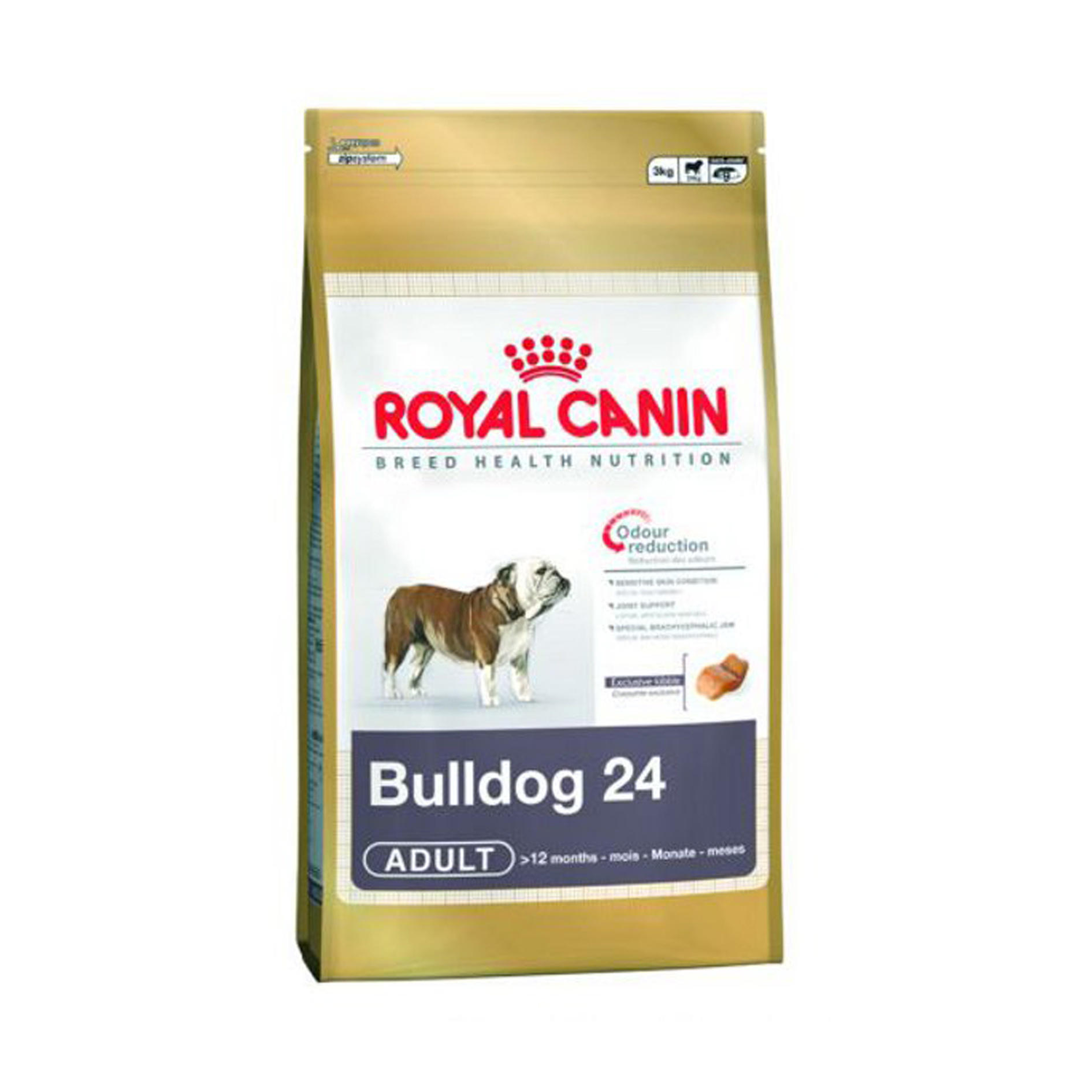 royal canin canine bulldog junior ebay. Black Bedroom Furniture Sets. Home Design Ideas