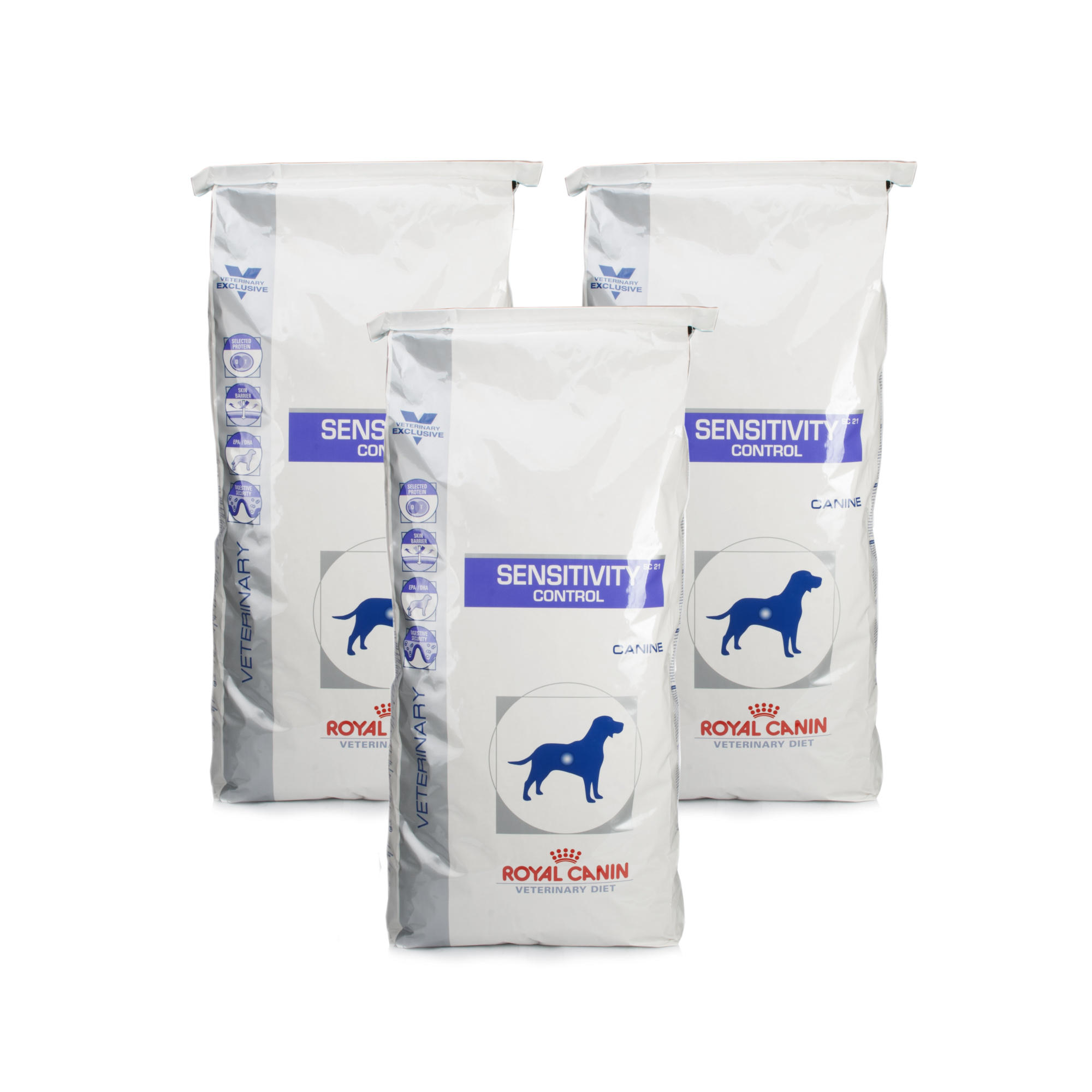 Royal Canin Canine Veterinary Diet Sensitivity Control Duck & Tapioca 3 Pack