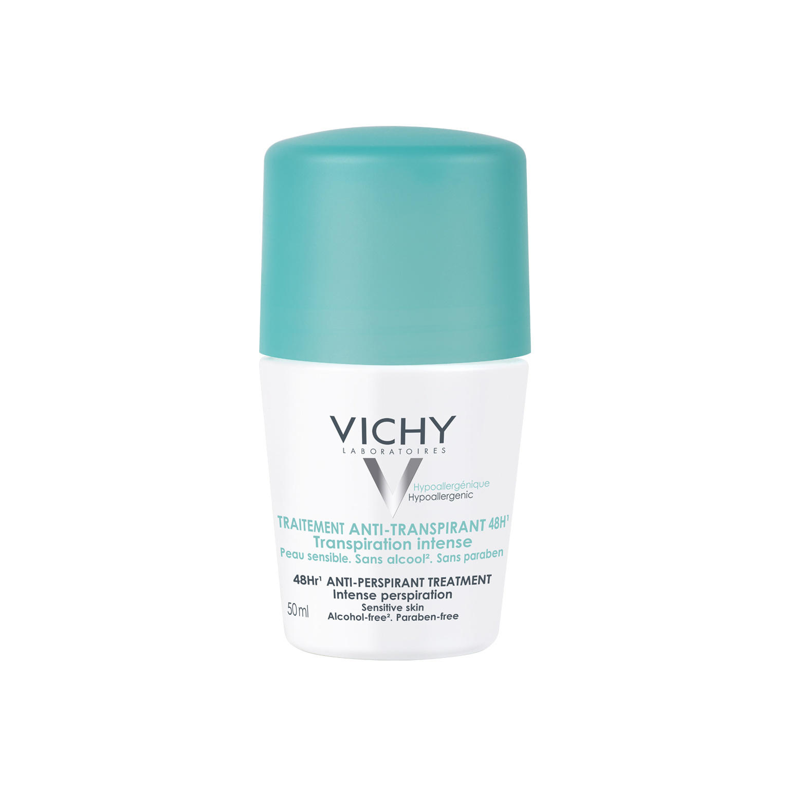 Vichy Deodorant Intensive Roll On 48 Hour