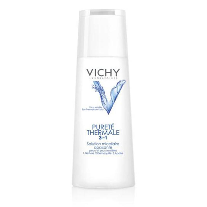 vichy calming cleansing solution toiletries. Black Bedroom Furniture Sets. Home Design Ideas