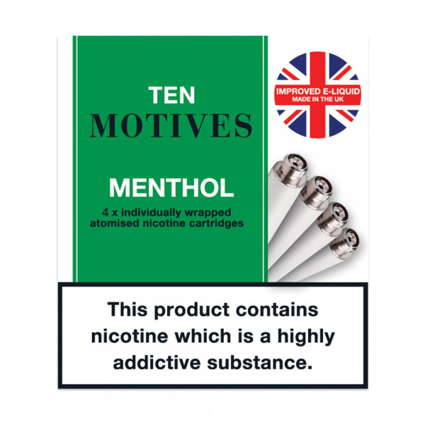 10 Motives Refills Menthol 11mg