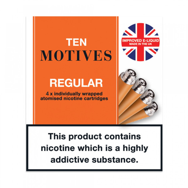 10 Motives Refills Tobacco 11mg