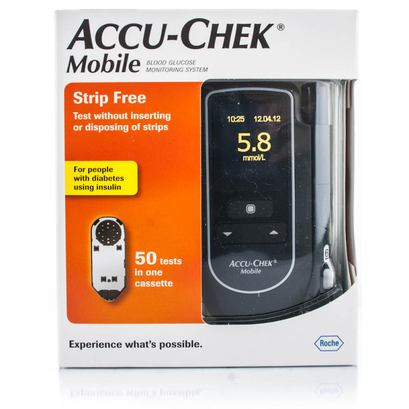 Buy Accu Chek Mobile Blood Glucose Meter System Chemist