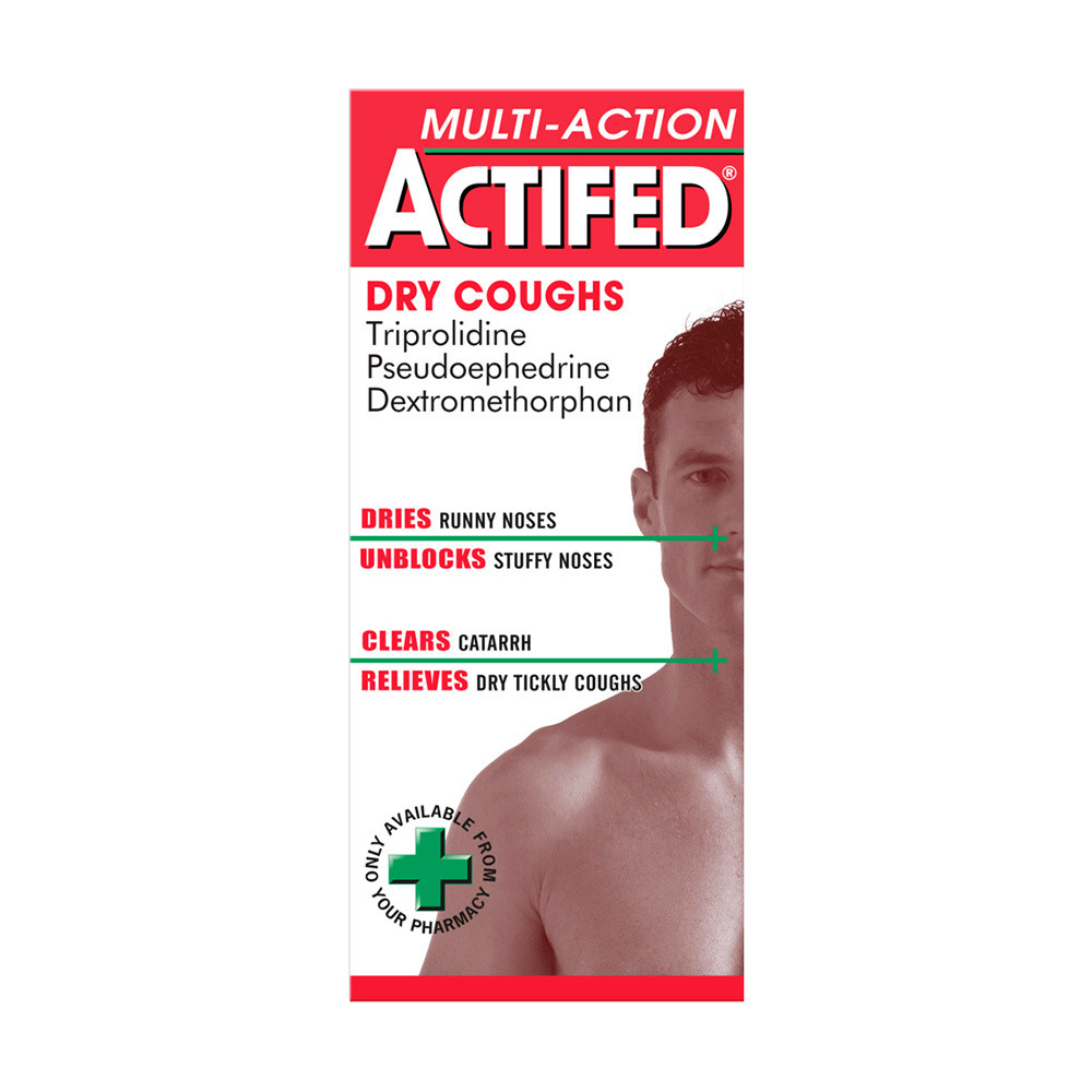 Actifed Multi-Action Dry 100ml