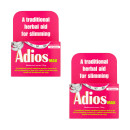 Adios Max Herbal Slimming Tablets Twin Pack