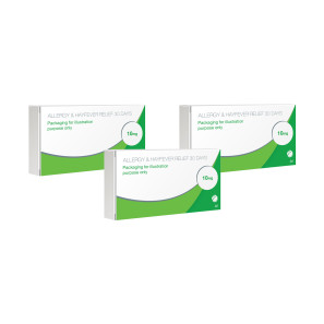 Allergy & Hayfever Relief Loratadine - Triple Pack