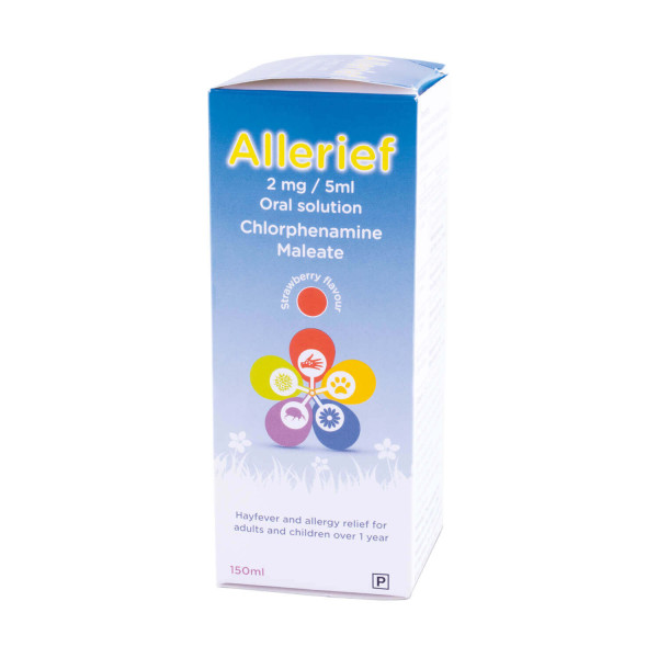 Allerief 2mg/5ml Oral Solution 150ml