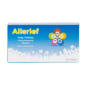 Allerief 4mg Tablets