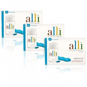 alli Capsules 60mg  - Triple Pack