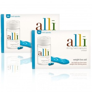 alli Capsules 60mg - Twin Pack