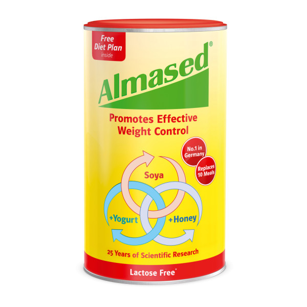 Almased Soya, Yogurt and Honey Meal Replacment. Lactose Free