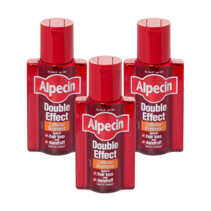 Alpecin Double Effect Caffeine Shampoo Triple Pack