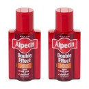 Alpecin Double Effect Caffeine Shampoo Twin Pack