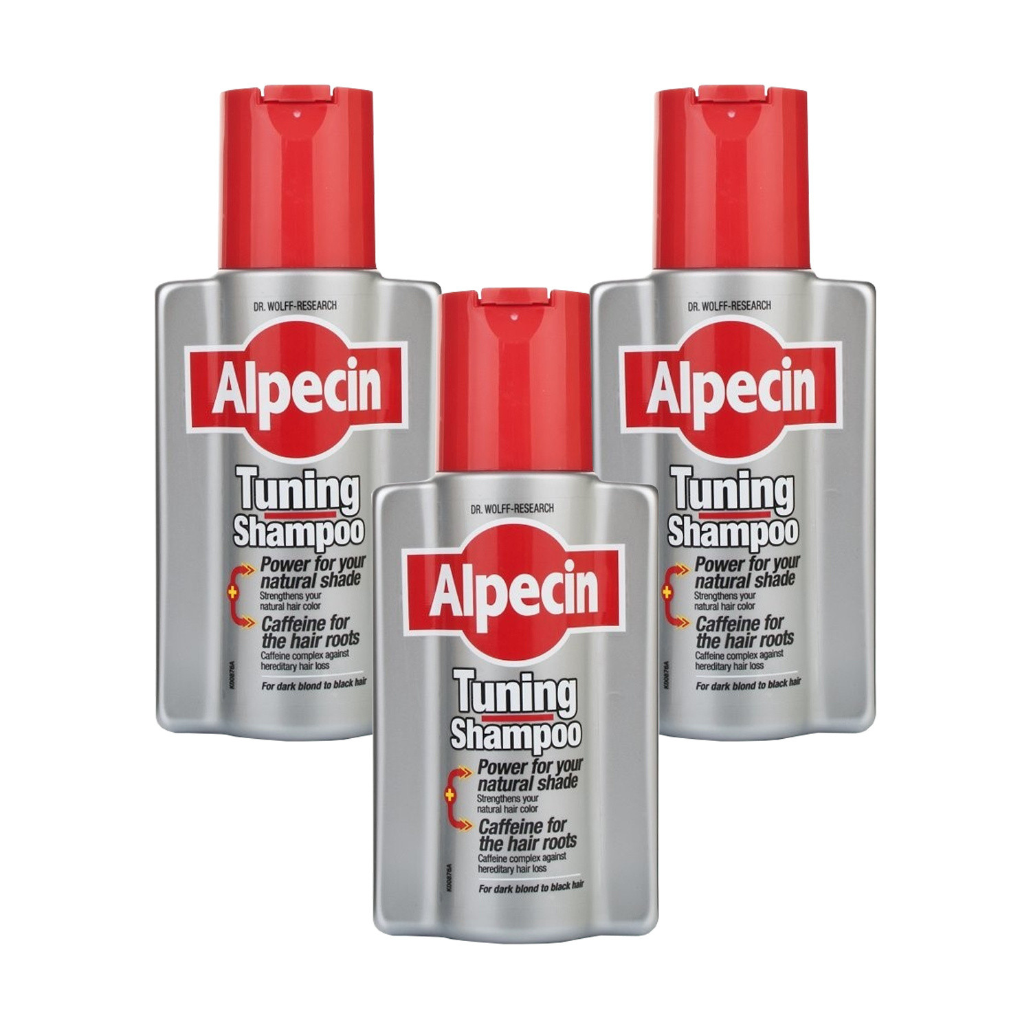 Alpecin Tuning Shampoo 200ml  Triple pack