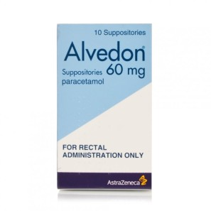Alvedon Suppositories 60mg