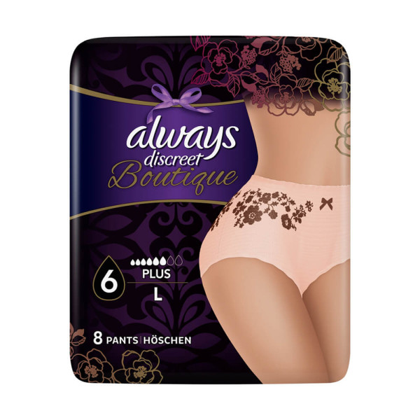 Always Discreet Boutique Pants Plus Large