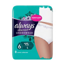 Always Discreet Pants For Sensitive Bladder Large