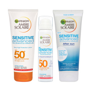 Garnier Ambre Solaire Sensitive Advanced 3 Piece Set
