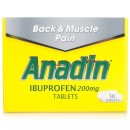 Anadin Ibuprofen 200mg Tablets