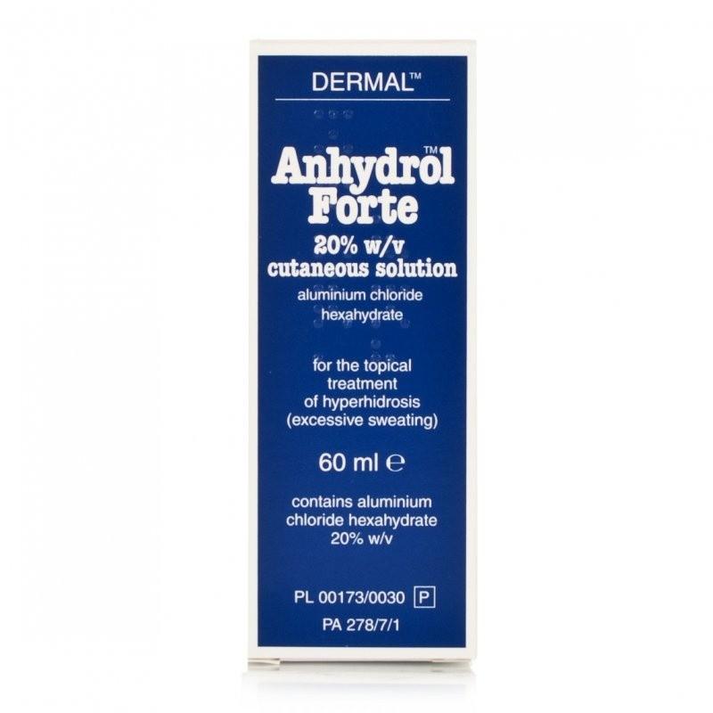 Anhydrol Forte Roll On 20% w/v Cutaneous Solution