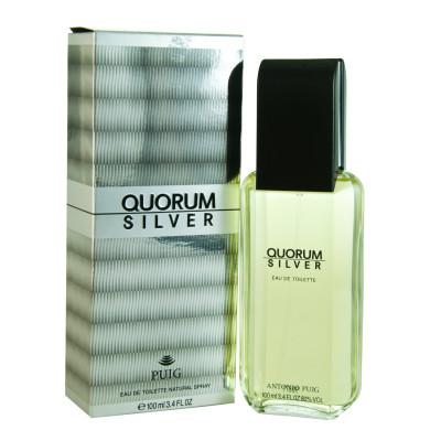 AntonioPuig Quorum Silver eau de Toilette Spray