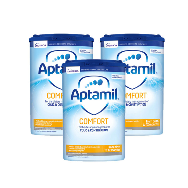 Aptamil Comfort Baby Milk Formula From Birth Triple Pack EXPIRY END OF OCTOBER