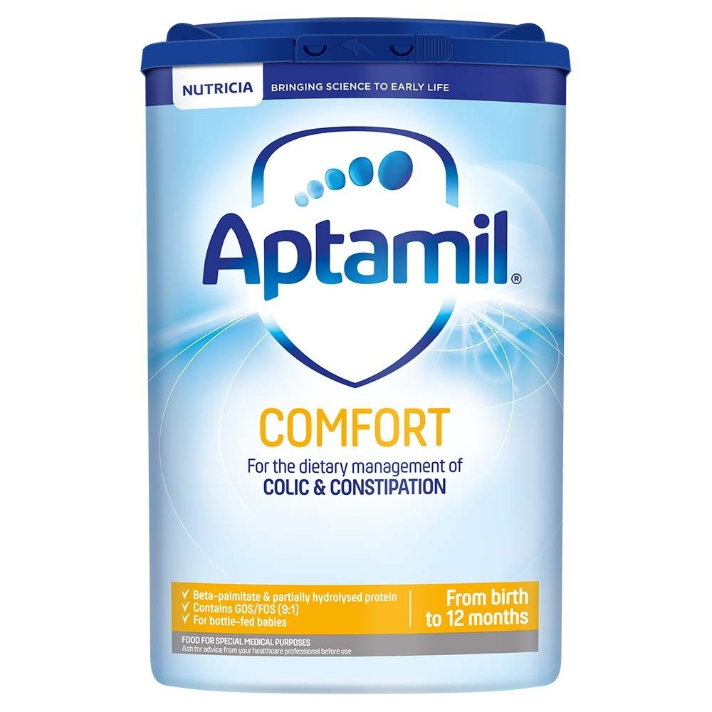 Click to view product details and reviews for Aptamil Comfort Formula Powder.