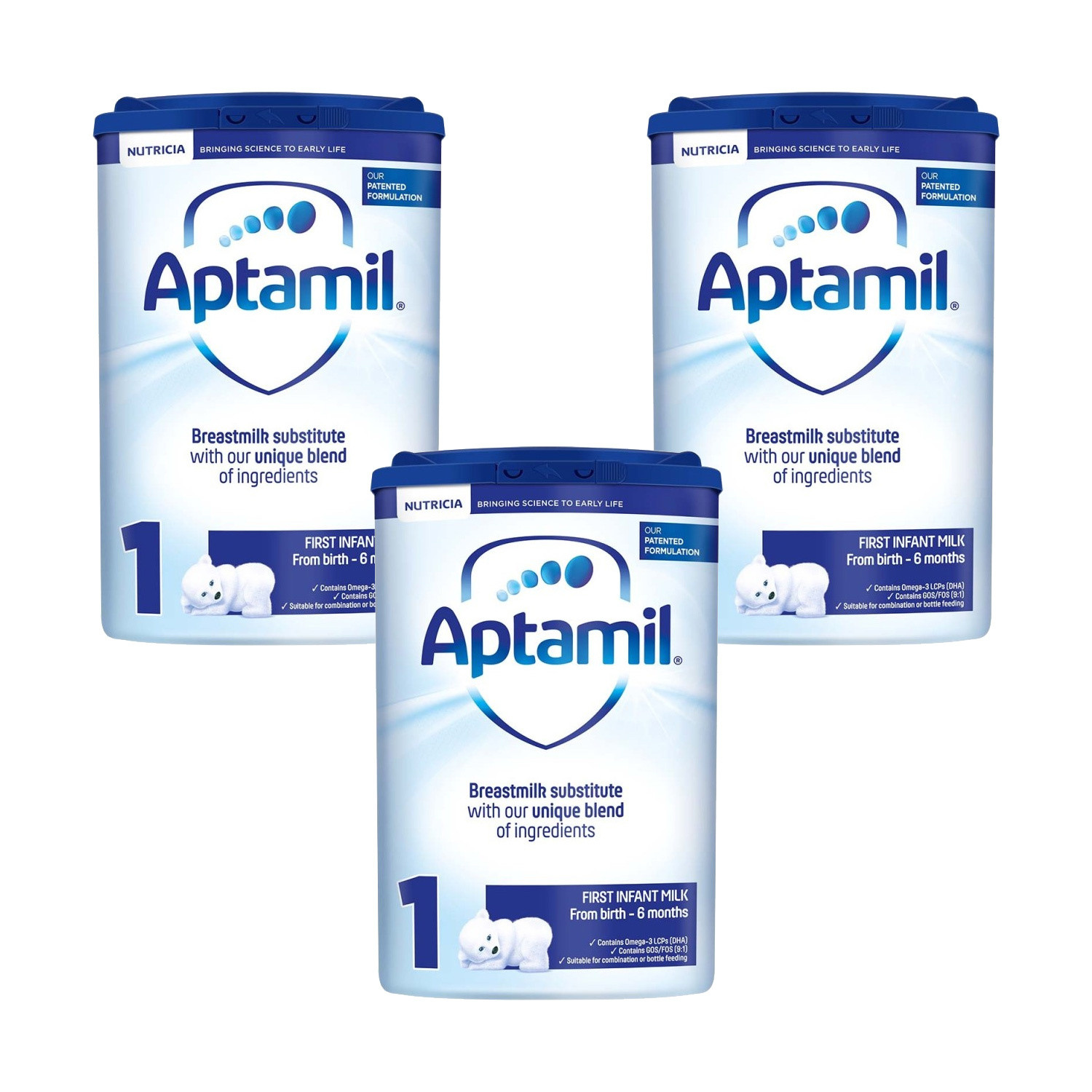 Click to view product details and reviews for Aptamil First Milk Formula Powder Triple Pack.