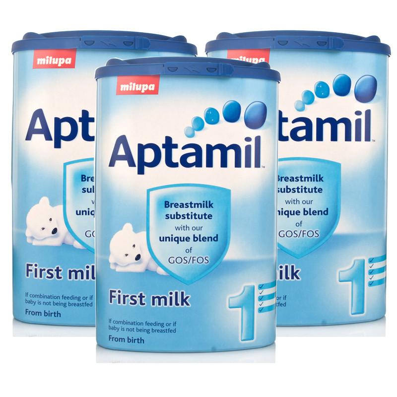 Aptamil First Milk Formula Powder 900g  Triple Pack
