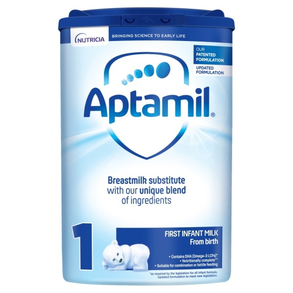 Aptamil 1 First Baby Milk Formula From Birth
