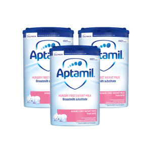 Aptamil Hungry Baby Milk Formula From Birth Triple Pack