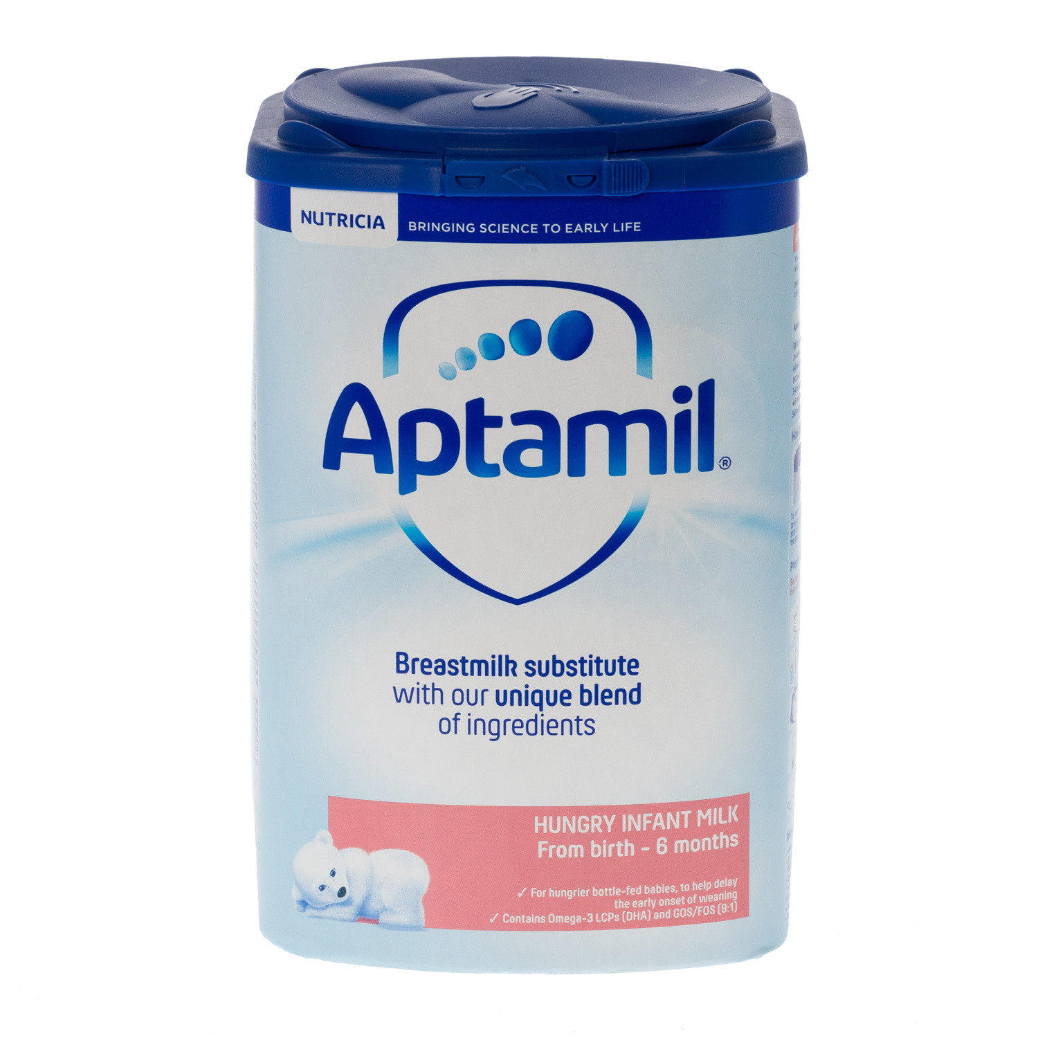 Click to view product details and reviews for Aptamil Hungry Milk From Birth Formula Powder.