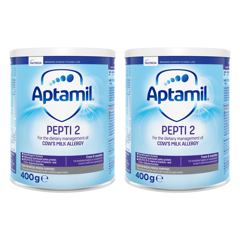 Aptamil Pepti 2 Milk Formula 400g Twin Pack