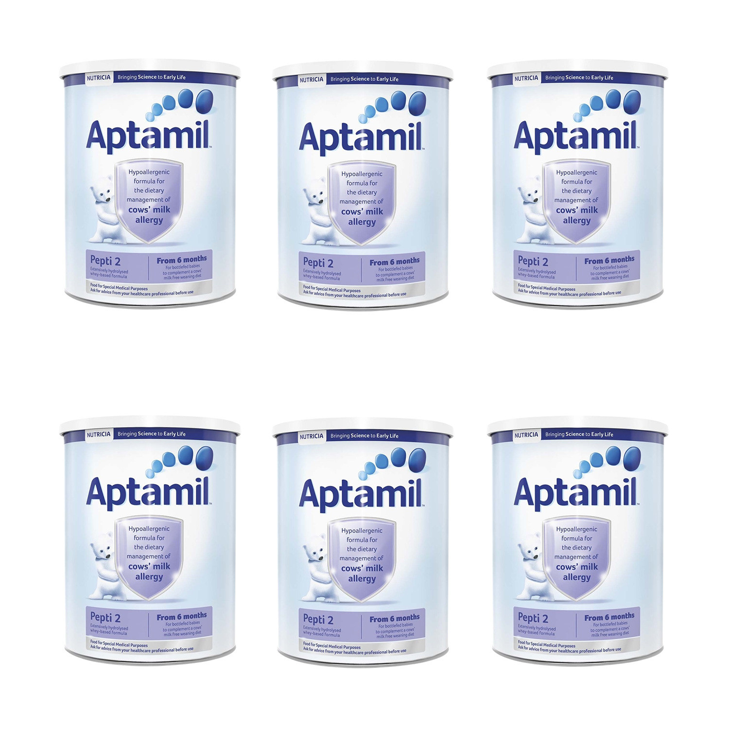 Click to view product details and reviews for Aptamil Pepti 2 Milk Formula Six Pack.
