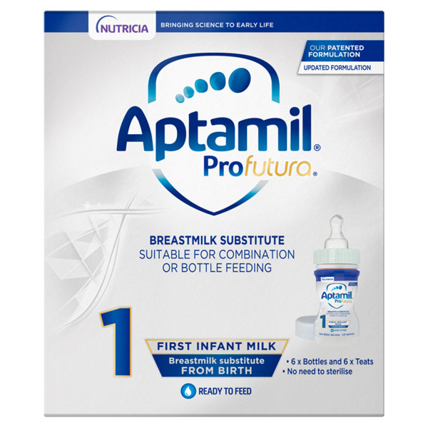 Aptamil ProFutura 1 First Baby Milk Formula Starter Pack From Birth